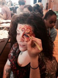 Face Painting at The Big Draw